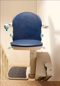 Picture showing Handicare 1000 in Sapphire Blue