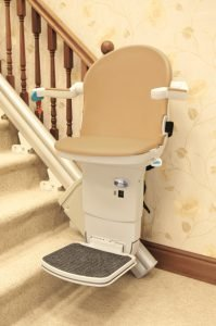 """""""Image of Handicare 1000 stairlift"""