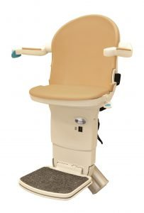 Picture showing Handicare 1000 stairlift