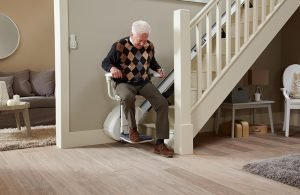 Photo of Homeglide straight stairlift