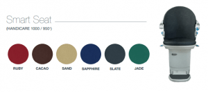 Picture of Handicare 1000 Smart seat Fabric Options