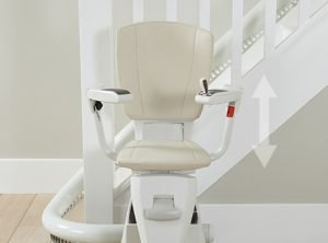 Picture showing the Flow2 height adjustable seat