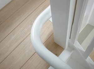Picture showing the Flow 2 Space Saving Rail