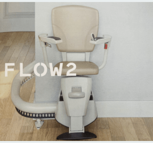 Flow2 Stairlift for Curved Staircases