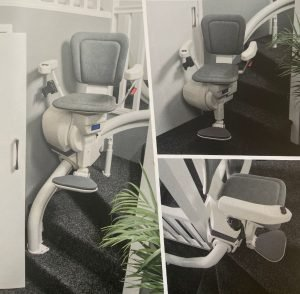 Picture of Platinum Ultimate Curved Stair lift