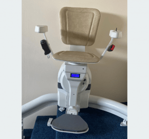 Platinum Ultimate Curved Stairlift