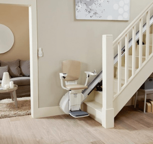 Homeglide Stairlift for Straight Staircases