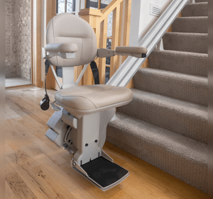 HomeAdapt Bruno Elite Straight Stairlift