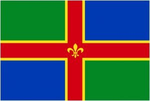 Picture of Lincolnshire Flag