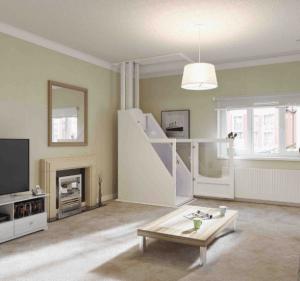 Wessex VM Through Floor Domestic Lift